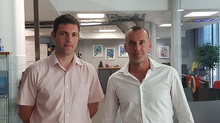 Sébastien Cazenove et Stéphane Massanell