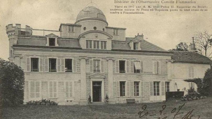 carte postale de l'observatoire