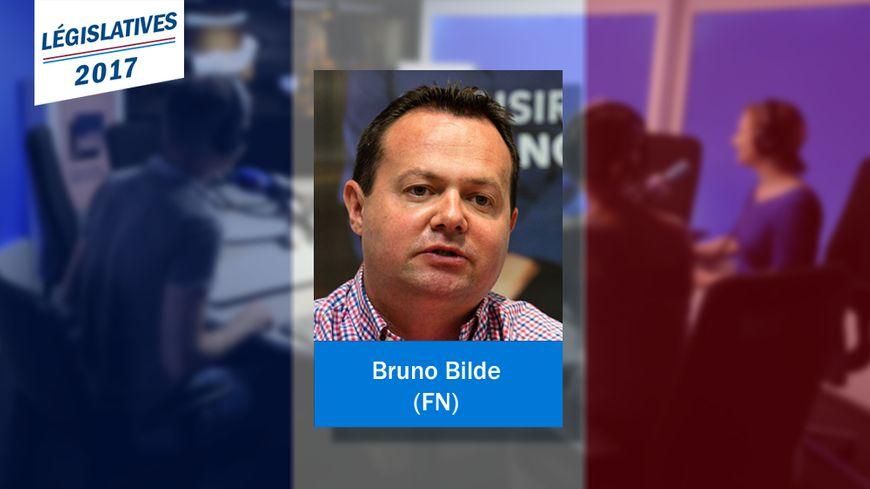 Bruno Bilde, nouveau député FN dans la 12e circonscription du Pas-de-Calais