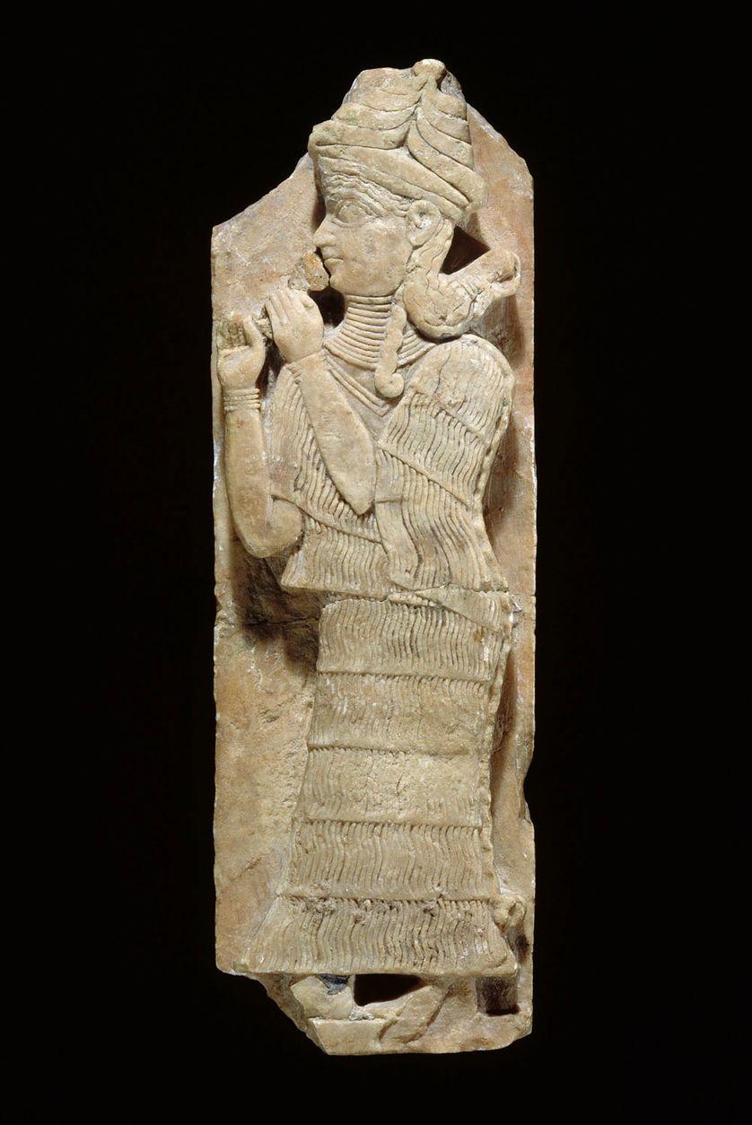 légende déesse époque d'Agadé, vers 2350-2200 avant notre ère