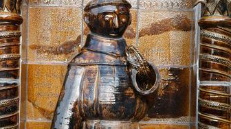 Petite statue représentant Raoul Glaber