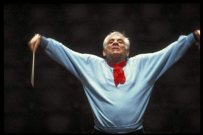 Leonard Bernstein, compositeur et chef d'orchestre (1984)