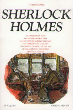 Couverture de SHERLOCK HOLMES - Arthur Conan Doyle - éditions Bouquins Laffont