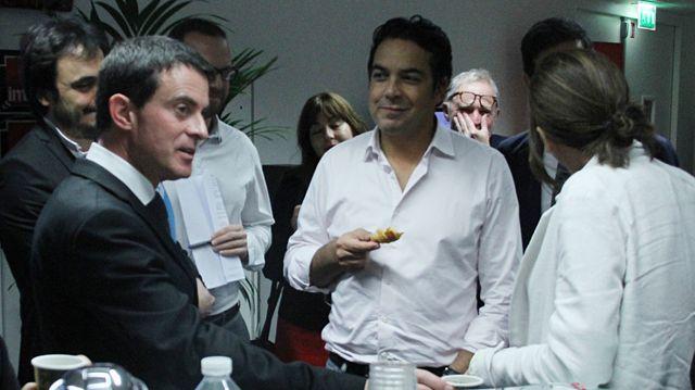 Avec Manuel Valls (Octobre 2016)