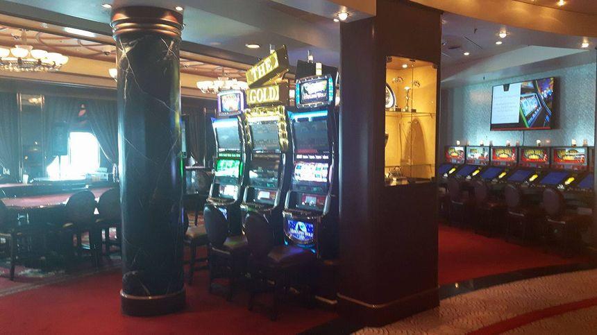 Les machines à sous du Queen Mary 2