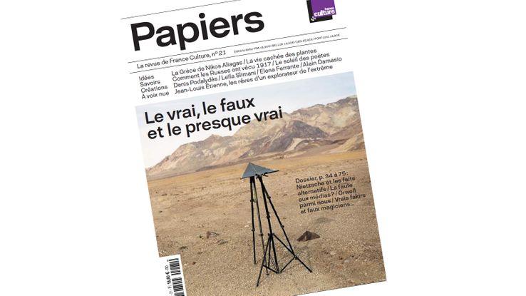 """""""Papiers"""", la revue de France Culture"""
