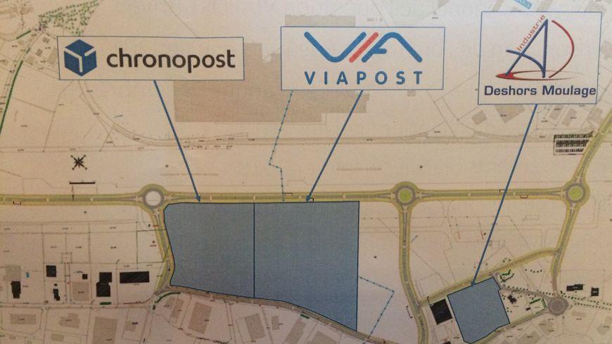 Viapost est la troisième entreprise à s'implanter sur le site de l'ancien aérodrôme de Brive Laroche. (Illustration Commune de Brive)