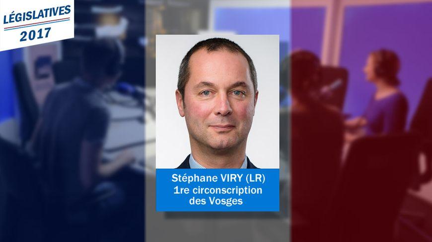 Stéphane Viry est le nouveau député (LR) de la première circonscription des Vosges.