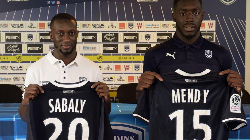 Youssouf Sabaly et Alexandre Mendy présnetés ce vendredi à la presse.