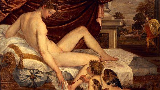"""Venus, Cupidon et Mars"" (1548-1550), par Lambert Sustris (1510-1560)"