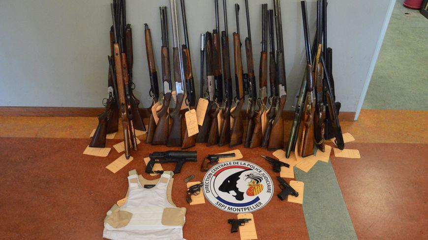 Une trentaine d'armes ont été saisies