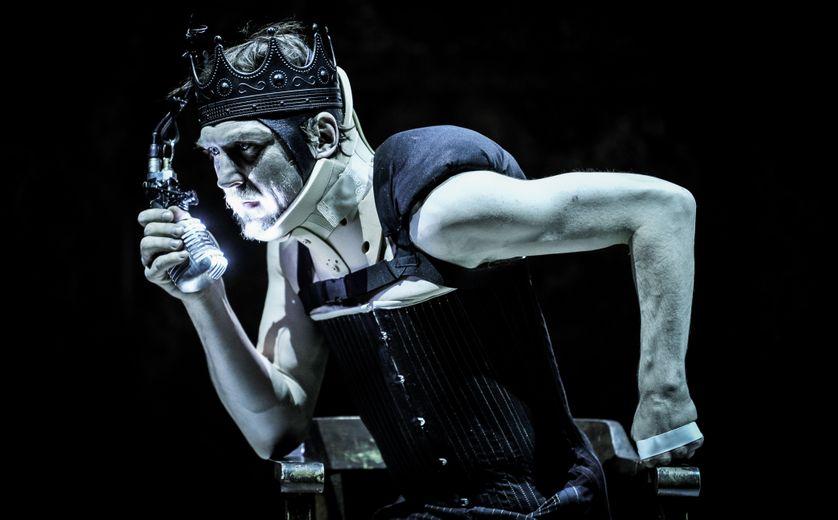 Lars Eidinger dans Richard 3 mis en scène par T.Ostermeier