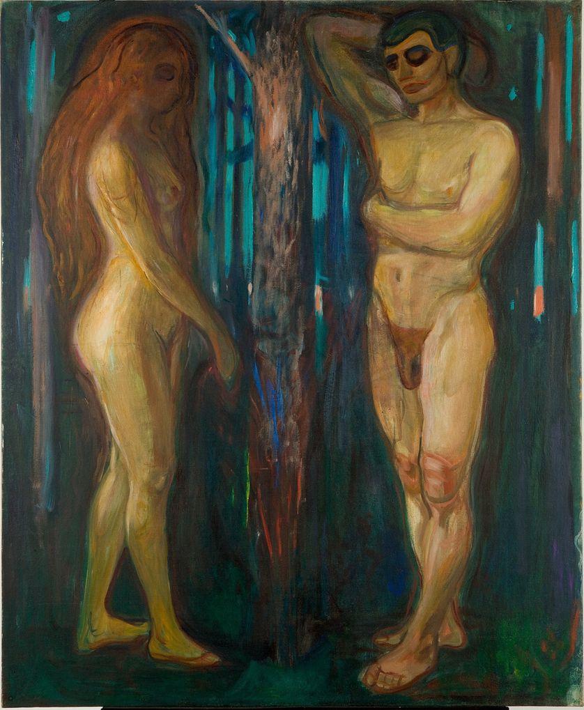 """Metabolisme"" par Edvard Munch (1863-1944)"