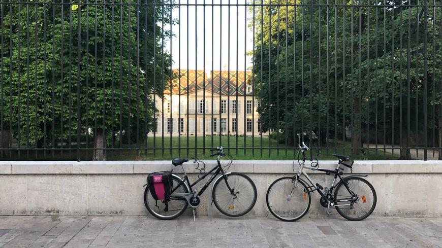 Les vélos sont partout à Dijon !