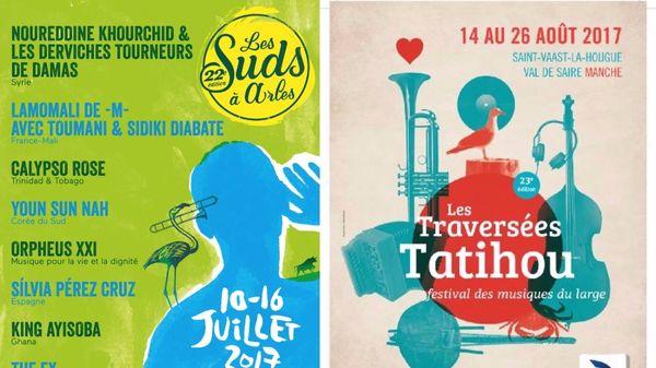 Sur la route des Festivals de l'été: les Suds en Arles et Tatihou