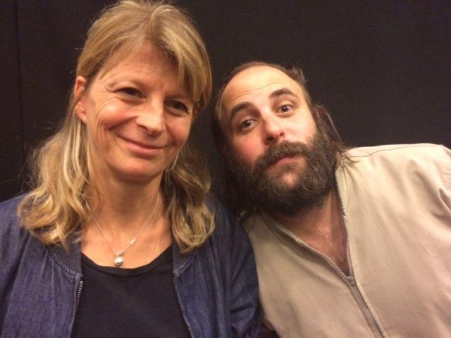 Sonia Kronlund & Vincent Macaigne