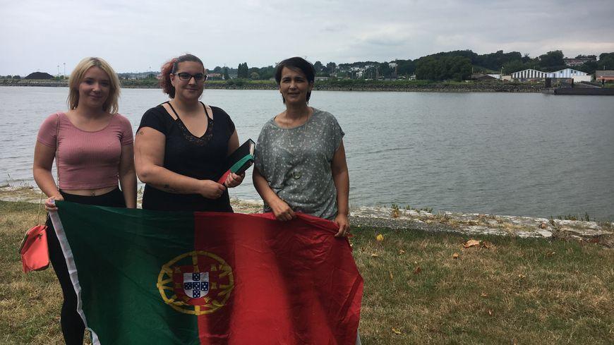 Tania, Vanessa et Carla ont décidé de se mobiliser pour aider les habitants de leur région natale