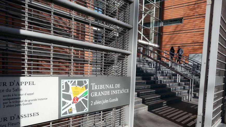 le palais de justice de Toulouse