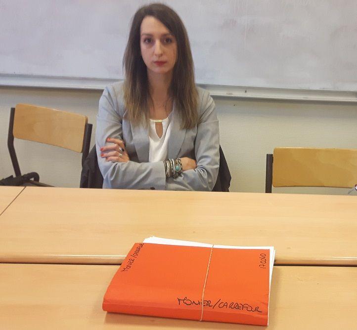 Clémence Marcelot, l'avocate de la famille