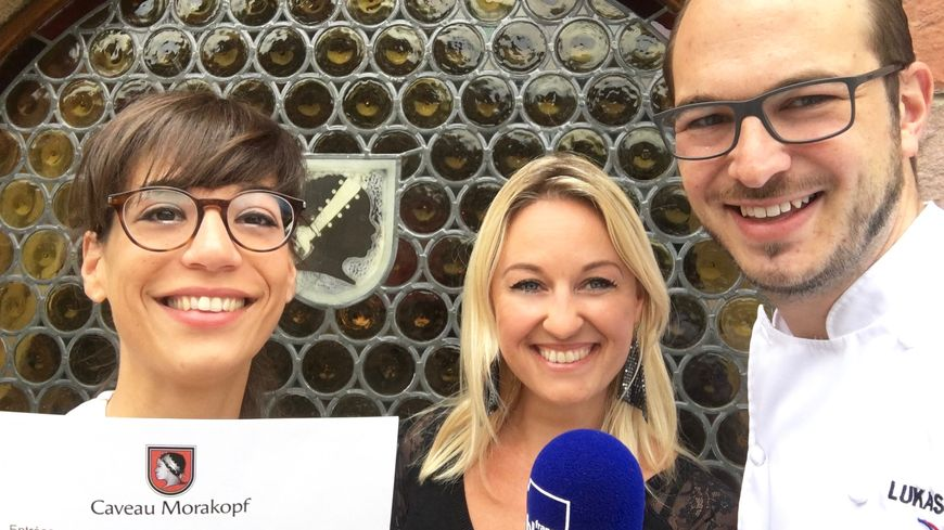 Céline Fidrie, Sandrine Kauffer & Lukas Edl