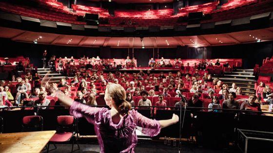 Répétitions à l'Opéra de Rouen, avant un opéra participatif