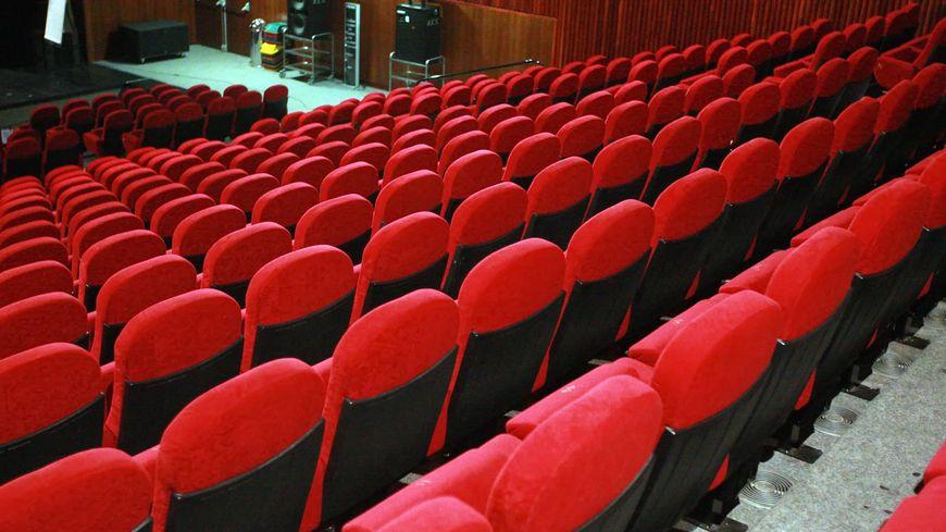 Salle de cinéma - illustration