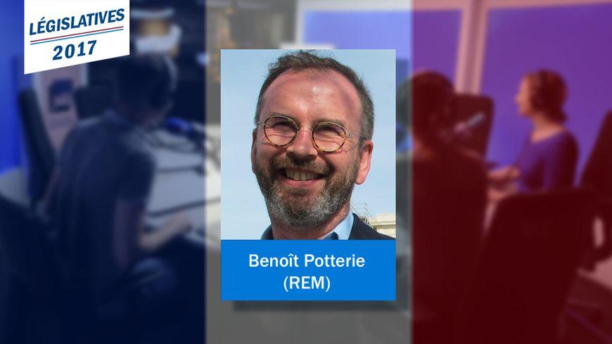 Benoît Potterie, nouveau député REM de la 8e circonscription du Pas-de-Calais