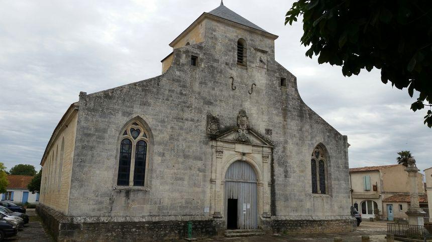 L'église de Brouage