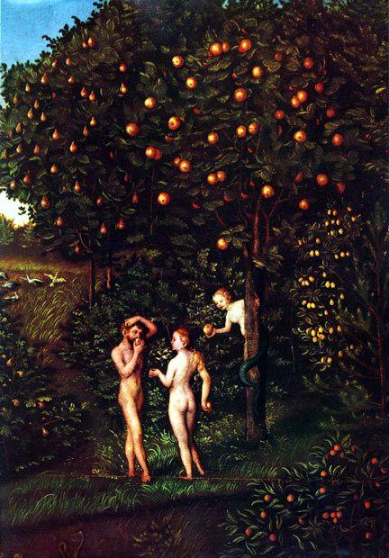 L'arbre de la connaissance de Lucas Cranach l'Ancien