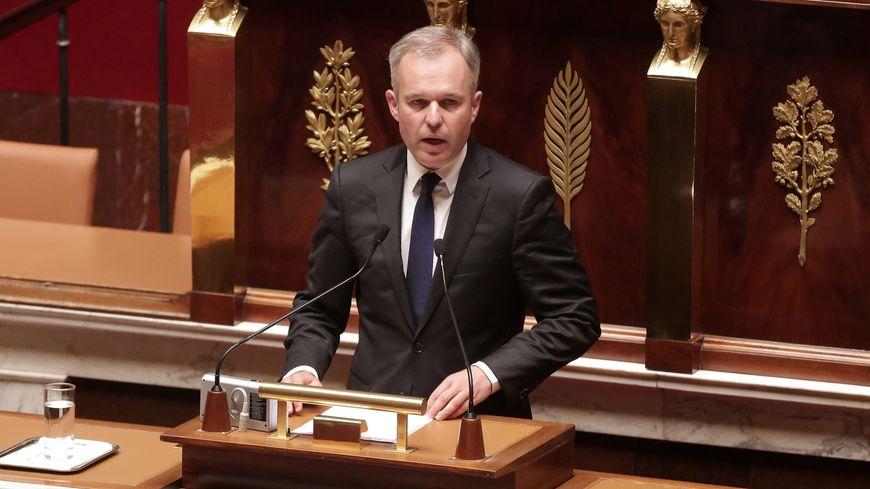 François de Rugy à l'Assemblée nationale, le 15 septembre 2015.