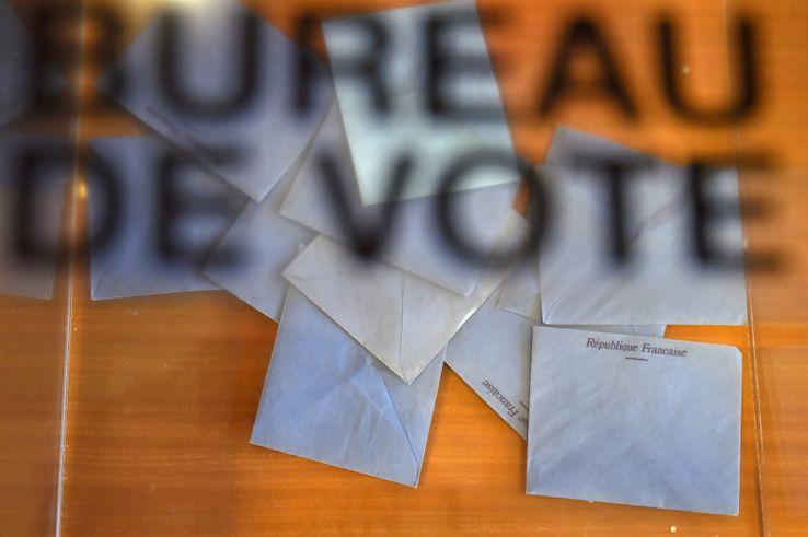 Bureau de vote, le 11 juin 2017