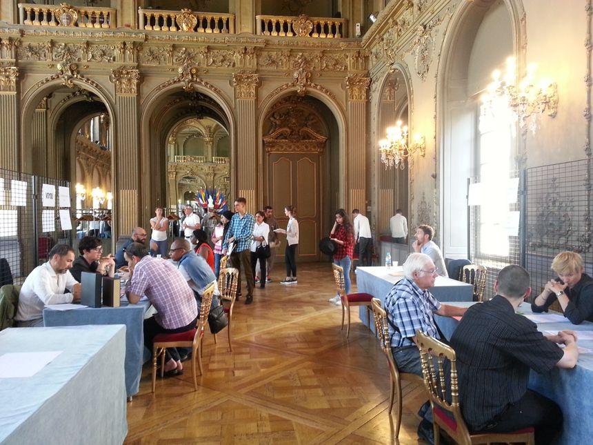 Le forum emploi hôtellerie restauration organisé par Pôle Emploi à la mairie de Nancy