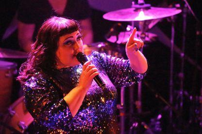 Beth Ditto en concert à Paris - Avril 2017