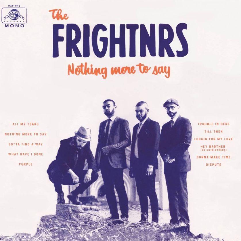 The Frightnrs. De gauche à droite : Dan Klein (chant) Preet Patel (basse) Chuck Patel (orgue claviers), Richard Terrana (batterie)