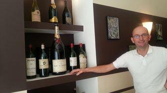 Olivier Bichard chef du resrtaurant l'Exception