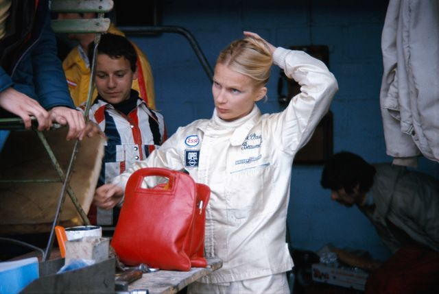 Marie-Claude Beaumont, pilote de la Corvette #30 du Greder Racing Team - 1973