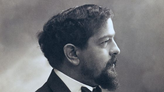 Portrait de Claude Debussy /  De Agostini Picture Library