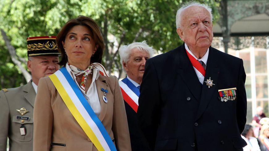 Martine Vassal et Jean-Claude Gaudin (photo d'illustration)