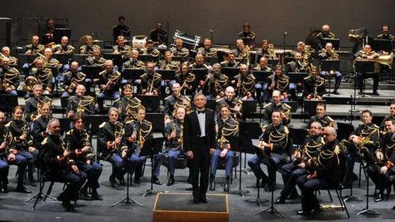 Orchestre d'Harmonie de la Garde Républicaine avec le chef Colonel François Boulanger