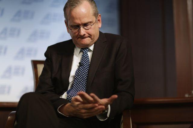Le professeur de droit Lawrence Lessig, activiste pro-démocratie