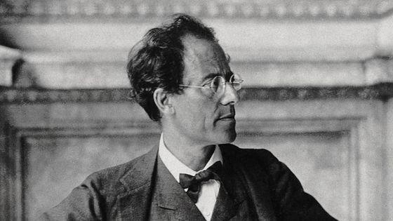 Gustav Mahler (1860-1911) - Photo prise dans le hall de l'Opéra de Vienne en 1907