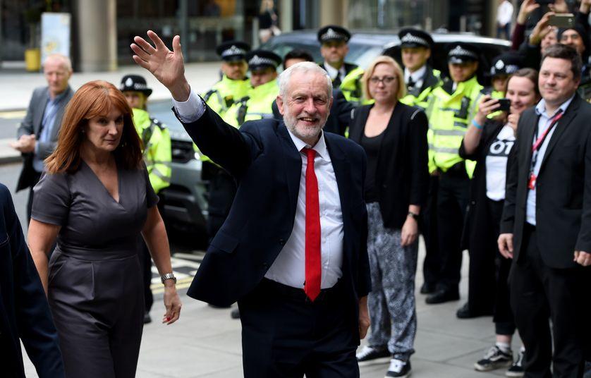 Le leader du Labour, Jeremy Corbyn