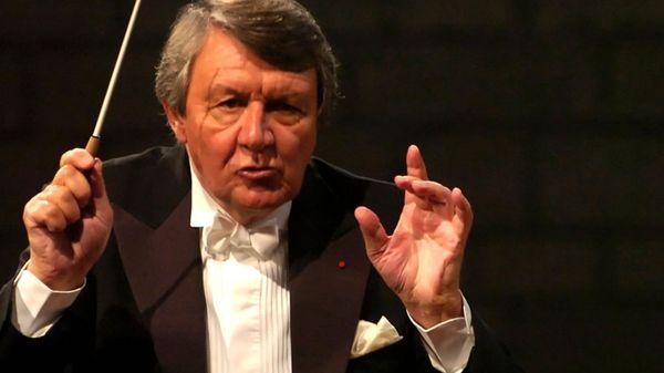 Journée en l'honneur du chef français Michel Plasson