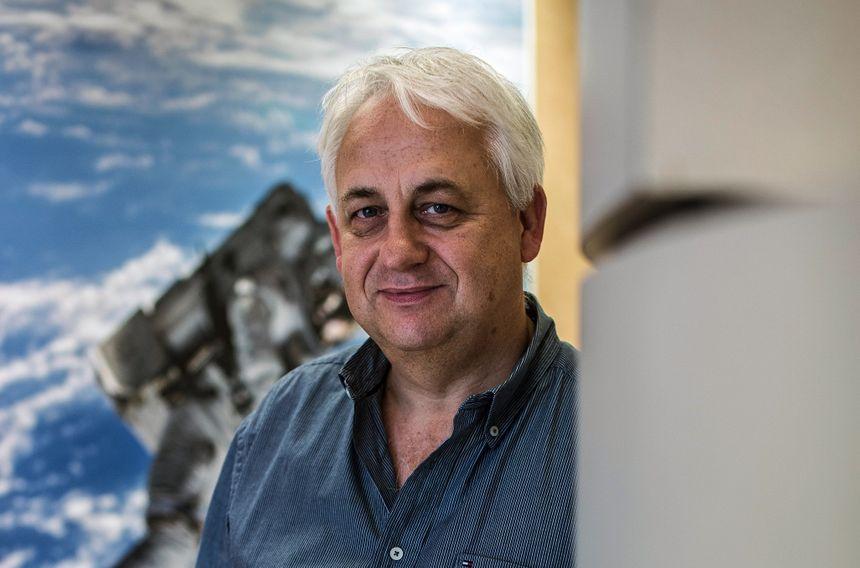 Alain Maillet est responsable des expériences de physiologie à bord d'ISS.