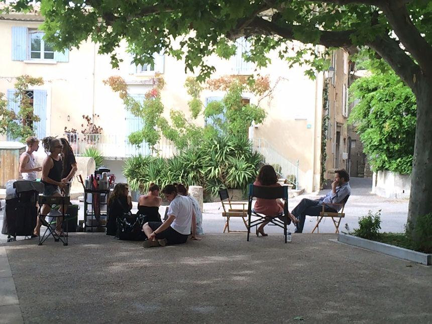 "Le tournage de ""Raoul Taburin"" doit se terminer la semaine prochaine à Venterol."