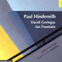 3 Stücke op 8 : 1. Capriccio en La Maj - pour violoncelle et piano - David Geringas