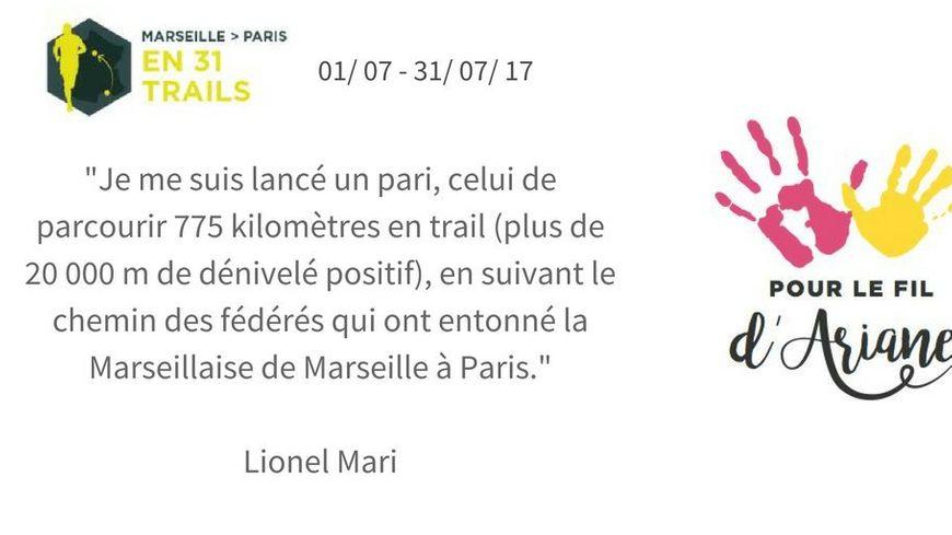 Le défi de Lionel Mari