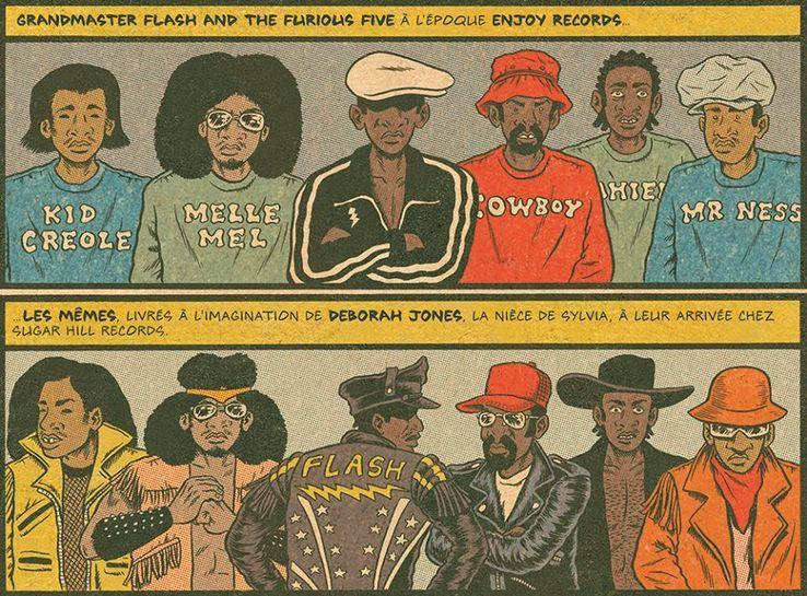 """Hip Hop Family Tree"" de Ed Piskor•"