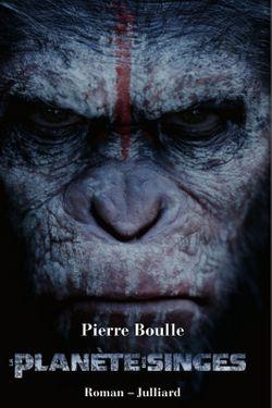 """Couverture du livre """"La planète des singes"""""""