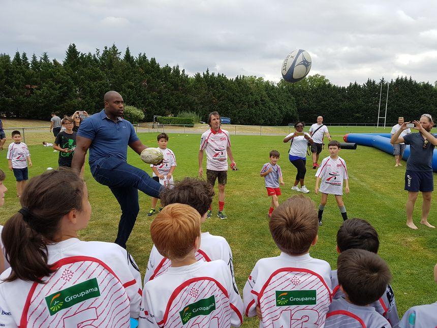 S'essayant même au rugby avec l'U.S Ramonville Rugby XV